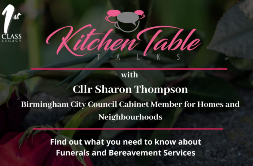 Funeral and Bereavement service changes: A Conversation with Councillor Sharon Thompson