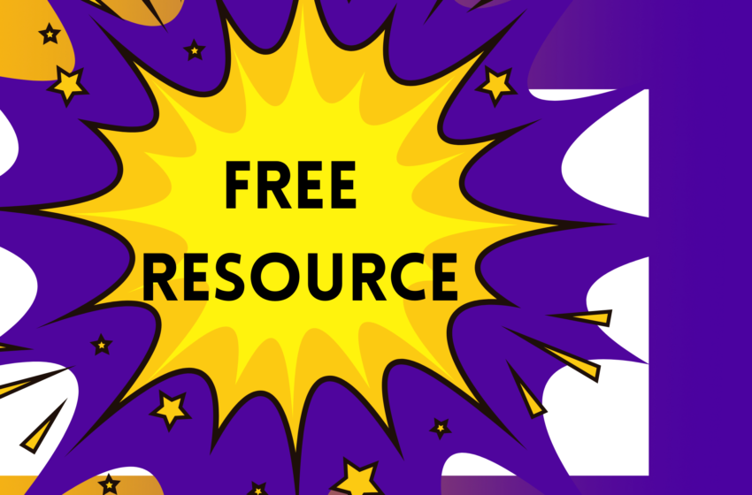 Free Resource for Schools and Teachers