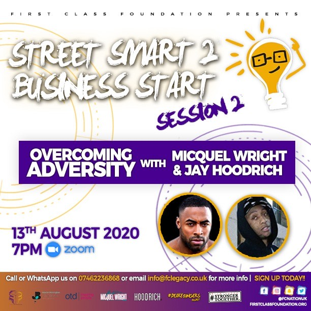 Street Smart 2 Business Start event 13th August