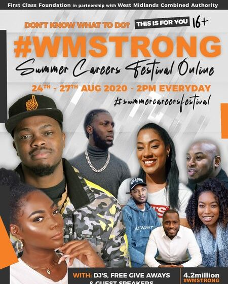 #WMSTRONG Summer Careers Festival Online