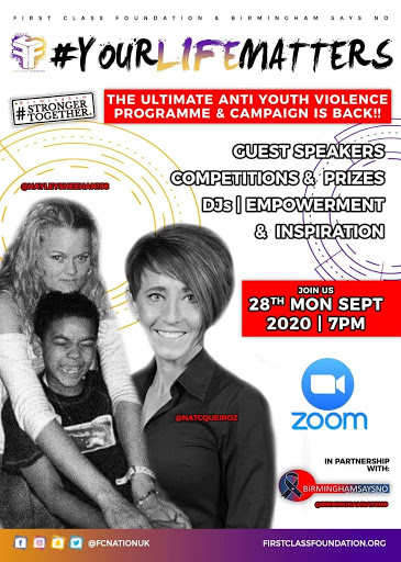 #YOURLIFEMATTERS 2020 Register Now – Anti Youth Violence Project