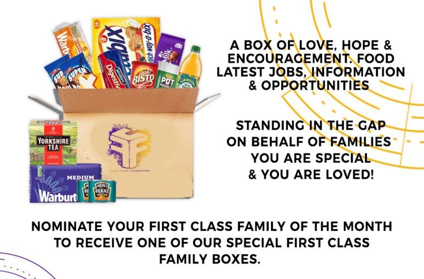 First Class Families – Stand with us Give or nominate a family today