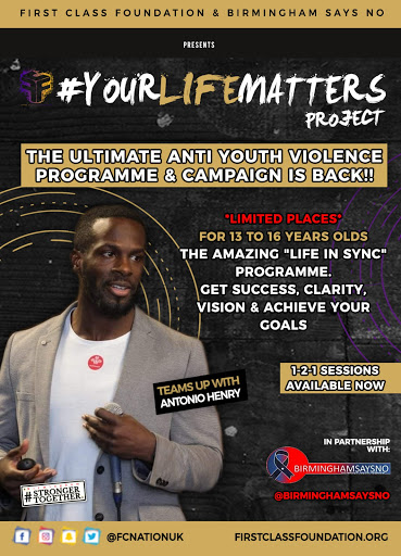 #YOURLIFEMATTERS 2020 Register Now – 'Life In Sync' one to one programme
