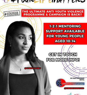 #YourLifeMatters offers one to one mentoring