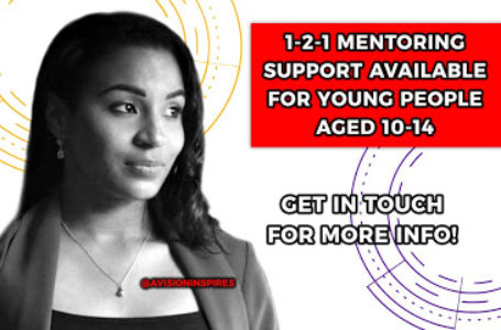 Our #YOURLIFEMATTERS project offers one to one mentoring