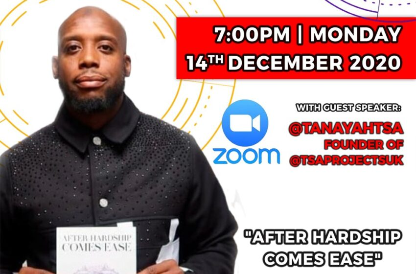 Join us for our last #YOURLIFEMATTERS project power hour of 2020 – Monday 14th December