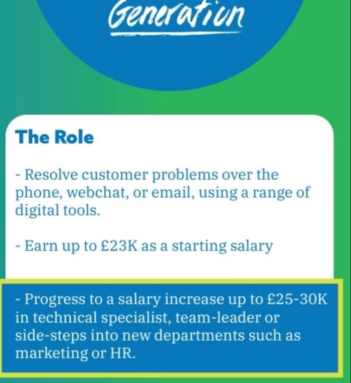 Job Opportunity – Generation – Land a Job in Customer Support