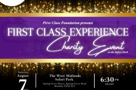 First Class Experience Charity Event – Tickets on sale now!