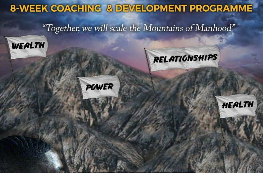 The Original Mandate of A Man 8 week coaching and development programme
